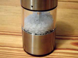 elektrische Salzmühle